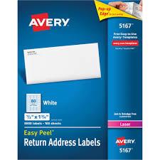 Avery 60 Labels Per Sheet Template Avery Easy Peel Address Labels 0 50 X 1 75 80 Sheet