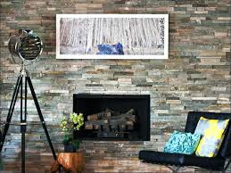 faux stone fireplace ideas kits fresh cladding design popular