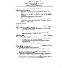 Resume Sles For Cashier Resume Exles Of Cashier Sle Resume For N Student