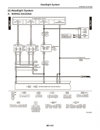 wiring diagram for headlights subaru legacy forums