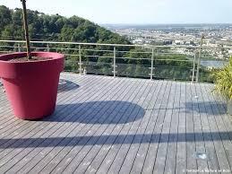 terrasse suspendue en bois terrasses en bois sur mesure aménagements extérieurs