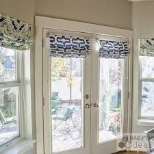 Curtains For Interior French Doors Best 25 Roman Shades For Doors Ideas On Pinterest Blinds For