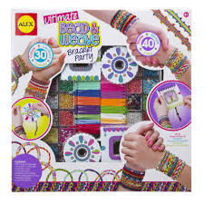 looms bracelet kit images Alex toys ultimate bead weave bracelet party jpg