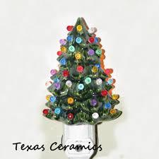 ceramic christmas tree with lights ceramic christmas tree light automatic light sensitive