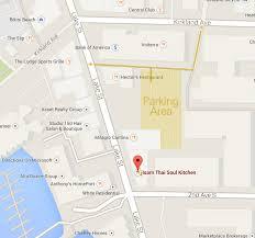 Map Of Alderwood Mall Isarn Thai Soul Kitchen Parking