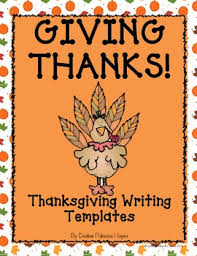 thanksgiving writing templates giving thanks freebie tpt