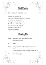 Wedding Booklet Templates Text Templates Gallery Catholic Wedding Solutions