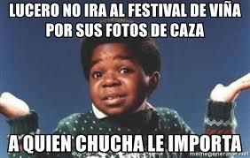 Lucero Meme - lucero no ira al festival de vi祓a por sus fotos de caza a quien