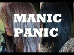 putting silver on brown hair how to manic panic on dark hair youtube
