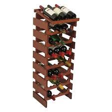 cheap price wooden mallet dakota 8 tier 24 bottle display wine