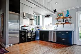 kitchen cabinets makeover ideas kitchen ideas combining wood and metal kitchen cabinets metal