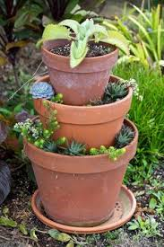 strawberry tower of pots container gardening pinterest
