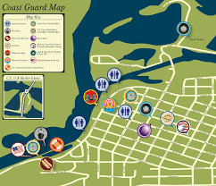 National Harbor Map Resources Forms Grand Haven Coast Guard Festival