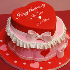 Wedding Wishes Online Editing Write Your Name On Anniversary Cakes Pictures Online Edit