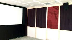 Jml Door Curtain by The Screen Is Up In The Magic Screening Room Of The Onyx Theatre