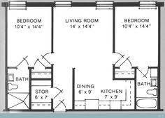 700 sq ft 2 bedroom floor plan 600 sq ft floor plan teeny tiny