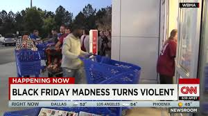 is shoppers open on thanksgiving video shows fist fight over black friday deals cnn video