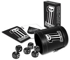 Harley Davidson Baby Bed Set Harley Davidson Dark Custom Dice Cup Set With Cards 602d