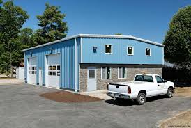 Shop Plans With Loft by Prefab Steel Garages Metal Garage Kits Steel Garage Buildings