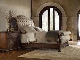 sleigh bed bedroom set hooker furniture adagio upholstered sleigh bed bedroom set