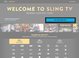 Sling Tv Faq How Do I Sign Up For Sling Tv Using A Gift Card