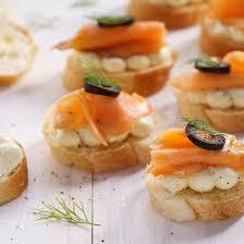 canapé saumon fumé recette toast de saumon fumé et céleri