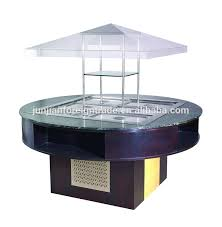 round table salad bar e p1800fl8 round type salad bar buffet display for hotel and