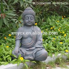 polyresin buddha sculpture garden ornament statue buy ornament