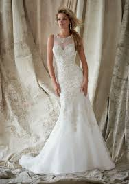 mori halter neck wedding dress embroidery with swarovski crystals bridal gown style 1330 morilee