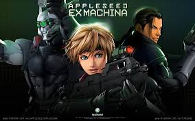 anime wallpapers appleseed ex machina madman entertainment