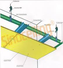 suspended steel profile drywall steel profile sinoceiling co ltd