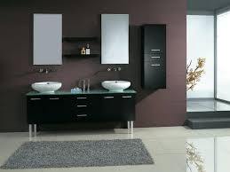 bathrooms design bathroom corner wall cabinet mirrored wall