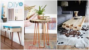 Diy Rustic Desk by Furniture Coffee Table Diy Ideas Homemade Coffee Tables Ideas