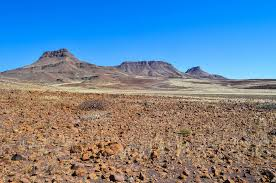 Rugged Landscape Mining Expedition In The Desert Of Brandberg West Freewheely