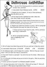 fun halloween printable activities and worksheets for the