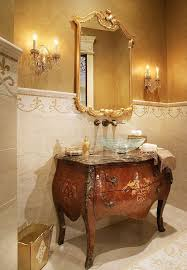 Luxury Powder Room Vanities Decorative Powder Room Mirrors Brucall Com