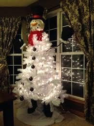 snowman tree topper b