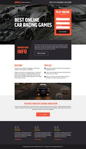 Best Designed Blog by Games Landing Page Design Added To Buylandingpagedesign Com