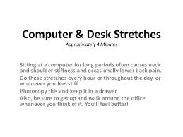Computer Desk Stretches Computer Desk Stretches 1 638 Jpg Cb 1430724281