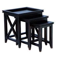 buy nest of tables nest of tables black image collections table decoration ideas
