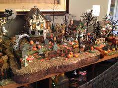 haunted boardwalk details display and