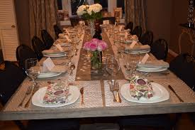 back to the table hosting a dinner party decor table setting ambiance