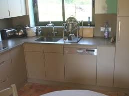 cuisine taupe laqué charmant cuisine blanc laque avec ilot 14 conception de