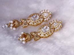bridal drop earrings luxurious bridal deluxe cubic zircon necklace drop