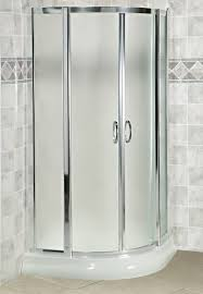 Corner Shower Glass Doors Arista Eu36 Curved Glass Corner Sliding Shower Door 36