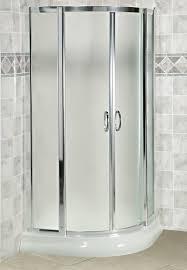 Shower Door 36 Arista Eu36 Curved Glass Corner Sliding Shower Door 36