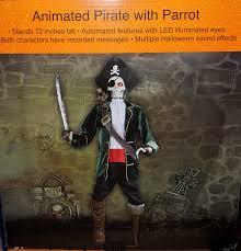 Life Size Halloween Skeleton by Amazon Com Lifesize Animated Talking Pirate Skeleton With