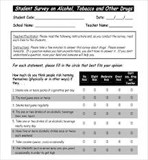 19 student survey templates u2013 free sample example format