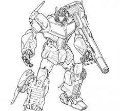 Get This Free Transformers Coloring Pages To Print Out 83756 In Transformer Color Page