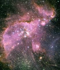 pink star diamond raw images esa hubble